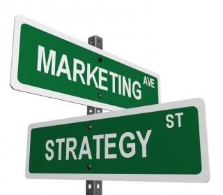 Marketing strategy signpost