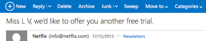 personalise email marketing