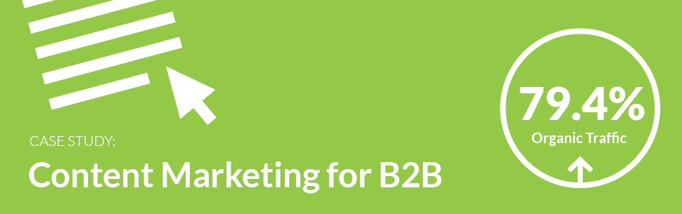 b2b pr case study Case studies  we were appointed to run a six-month pr campaign to support  the 200-electric van nissan van  boosting b2b social media influence across.